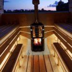 LED-valo saunaan (höyrysauna)